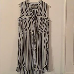 H&M Black & White Stripe Dress